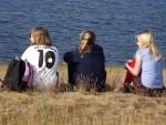 Im Sommer gibt es immer wieder die Möglichkeit, Zeit am See zu verbringen - bei sportlichen Wettkämpfen oder zum Entspannen nach der Schule.